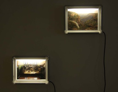 Sarah Iremonger Landscape Unions 2011-12 Photographs printed on hahnemuhle photographic paper, light boxes
