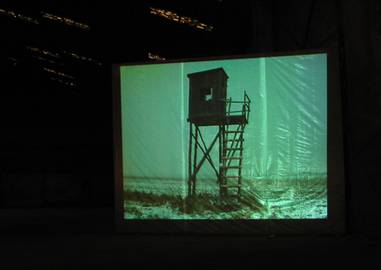 Sarah Iremonger The Hunting Box Party 2003-11 Video projection