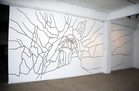 Sarah Iremonger I thought I dreamed of you 2009-10 Wall painting