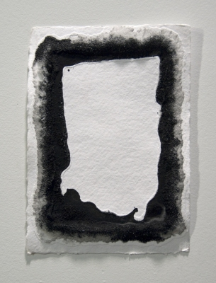 Sarah McDougald Kohn 2008 Salt & ink on paper