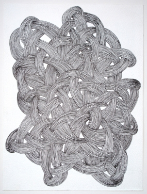 Sarah McDougald Kohn 2010 Ink on paper