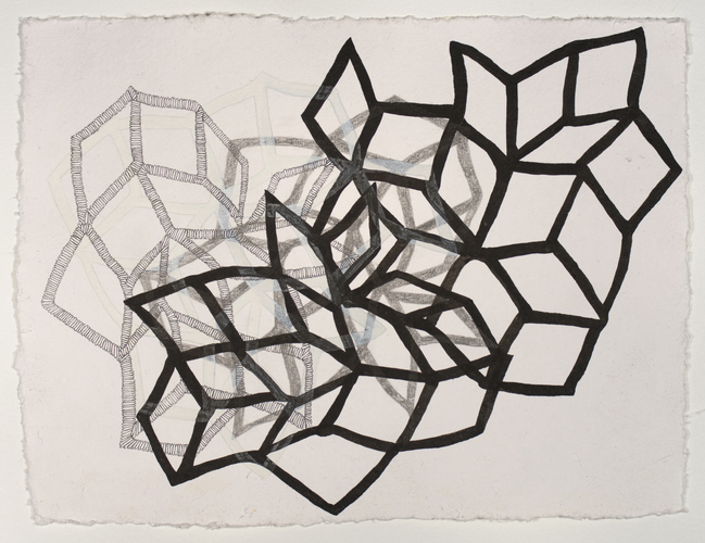 Sarah McDougald Kohn 2012 Pen, pencil, and ink on paper