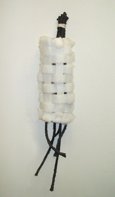 Sarah McDougald Kohn 2006 & Older Rope, glue, graphite, string & polyester foam batting
