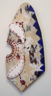 Sarah McDougald Kohn 2006 & Older Wood, paint & pins