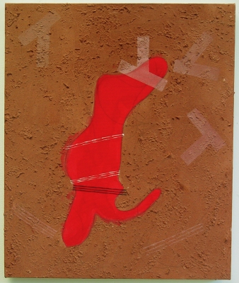 Sarah McDougald Kohn 2006 & Older Mixed media on canvas