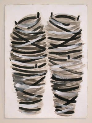 Sarah McDougald Kohn 2009 Ink, gouache and acrylic on paper