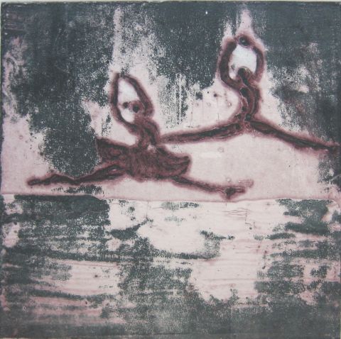 Carborundums (Gallery 3) Carborundum collagraph