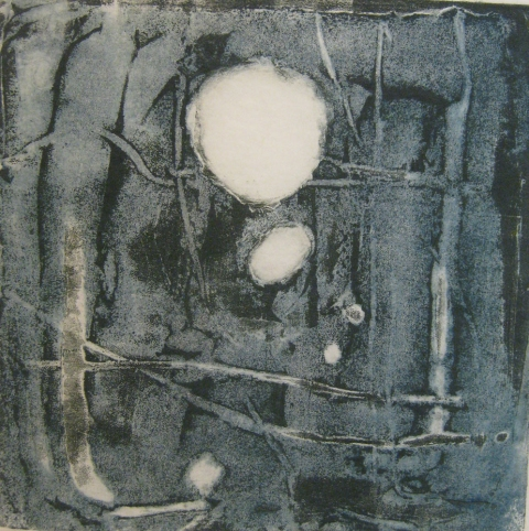 Carborundums (Gallery 4) Carborundum collagraph on rice paper
