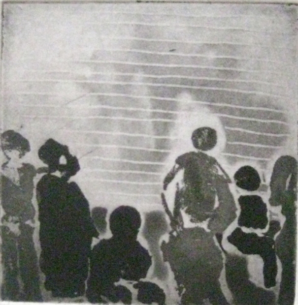 Etchings Untitled (figures 2)