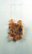Sara Hubbs MY JEWELRY BOX ruedita's (fried Mexican snack) and thread