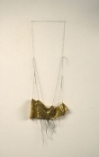 Sara Hubbs MY JEWELRY BOX discarded shoe and thread