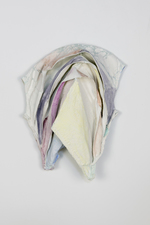 SARA HUBBS Sculpture Joint compound and pastel on blouse
