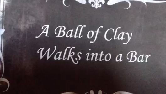 What if you make a silent movie about a ball of clay...