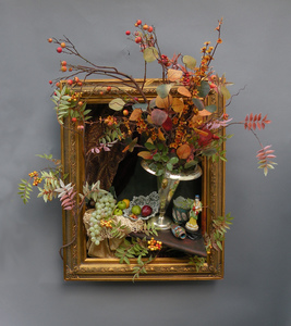 Sara Schindel Assemblages Mixed media