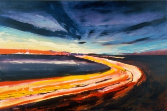 Sasja Lucas Paintings: Landscapes 1 oil on canvas