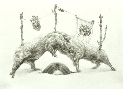 SAWOOL KIM Index Project pencil on paper