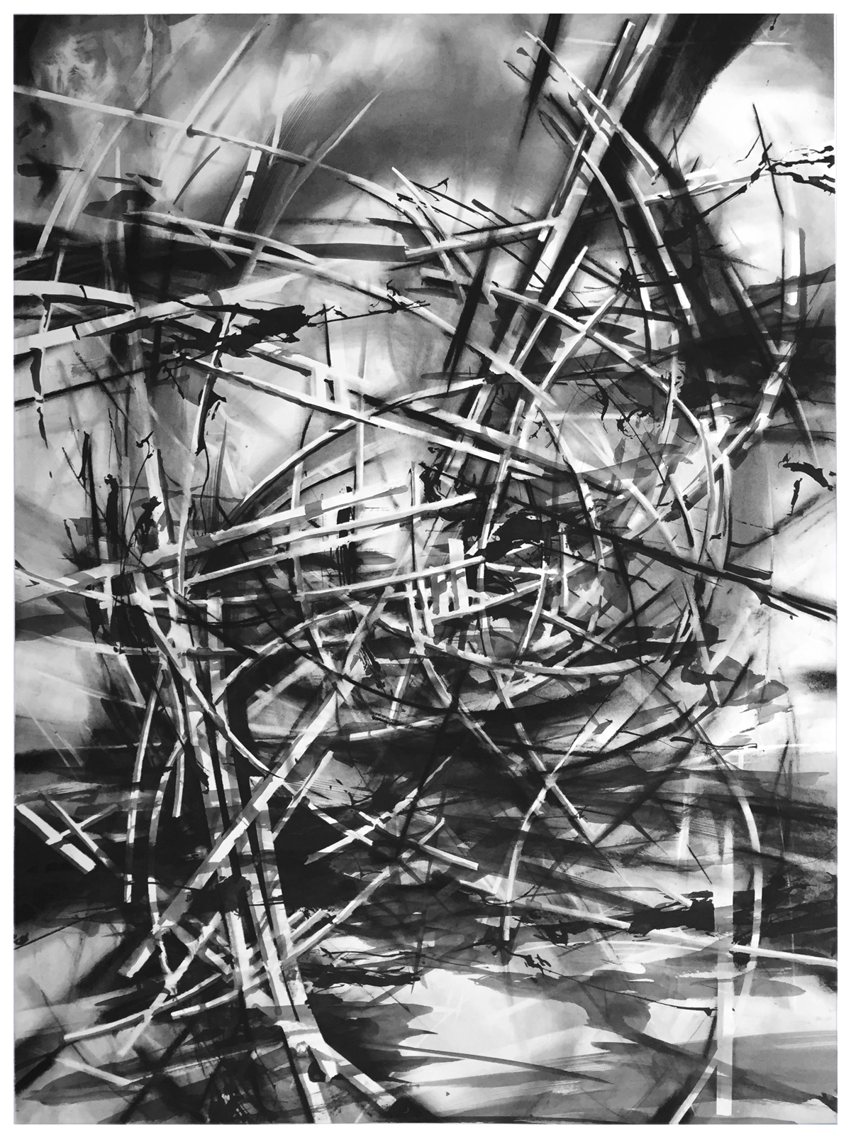 recent drawings ink,graphite, charcoal