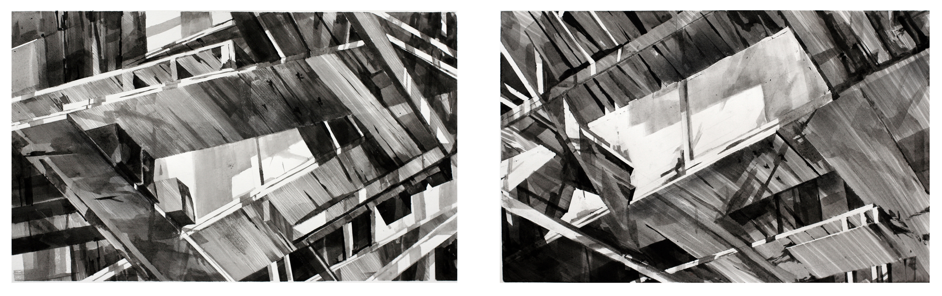 recent drawings bridge