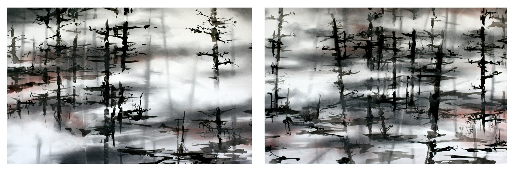 recent drawings mist