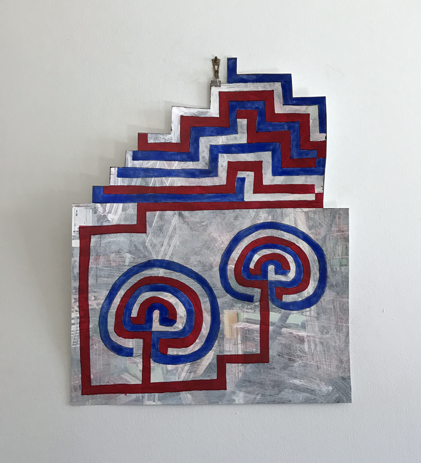 2016 Patriotic Labyrinth Cutout