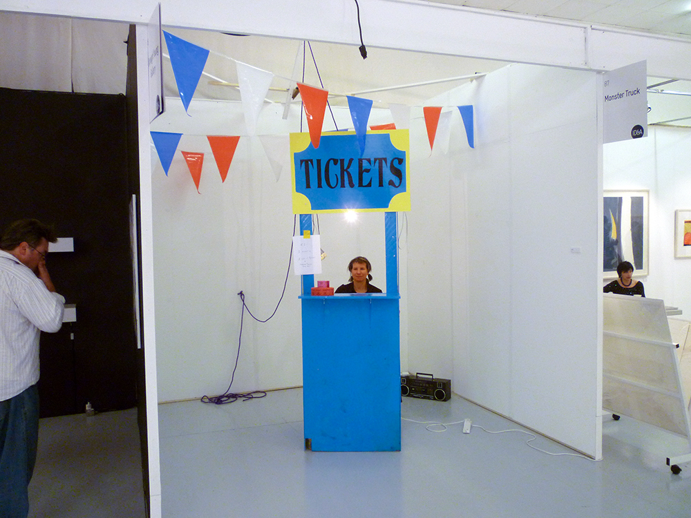 Afair A Fair (Ticket Booth & Boombox w/ mixed tapes)