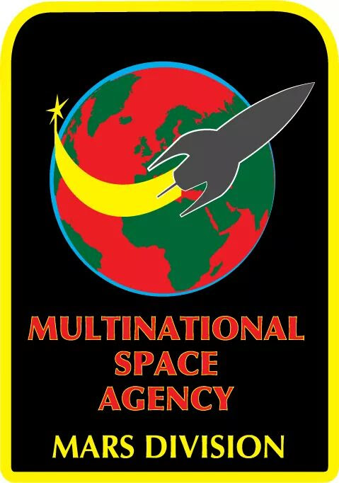 Multinational Space Agency MSA: Mars Division Logo