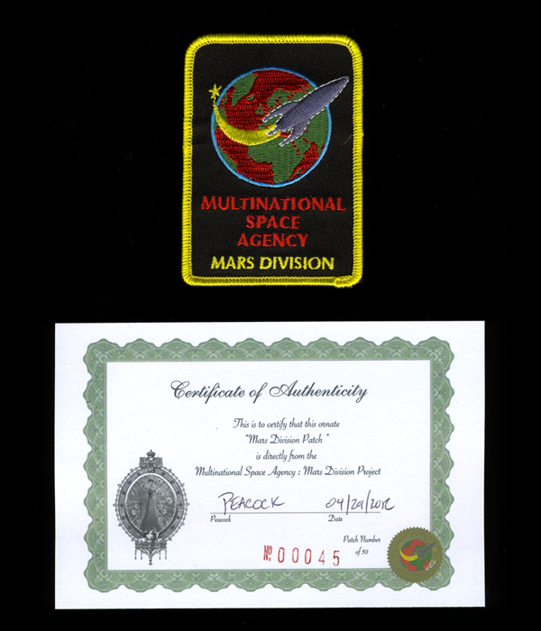 Multinational Space Agency MSA: Mars Division Patch