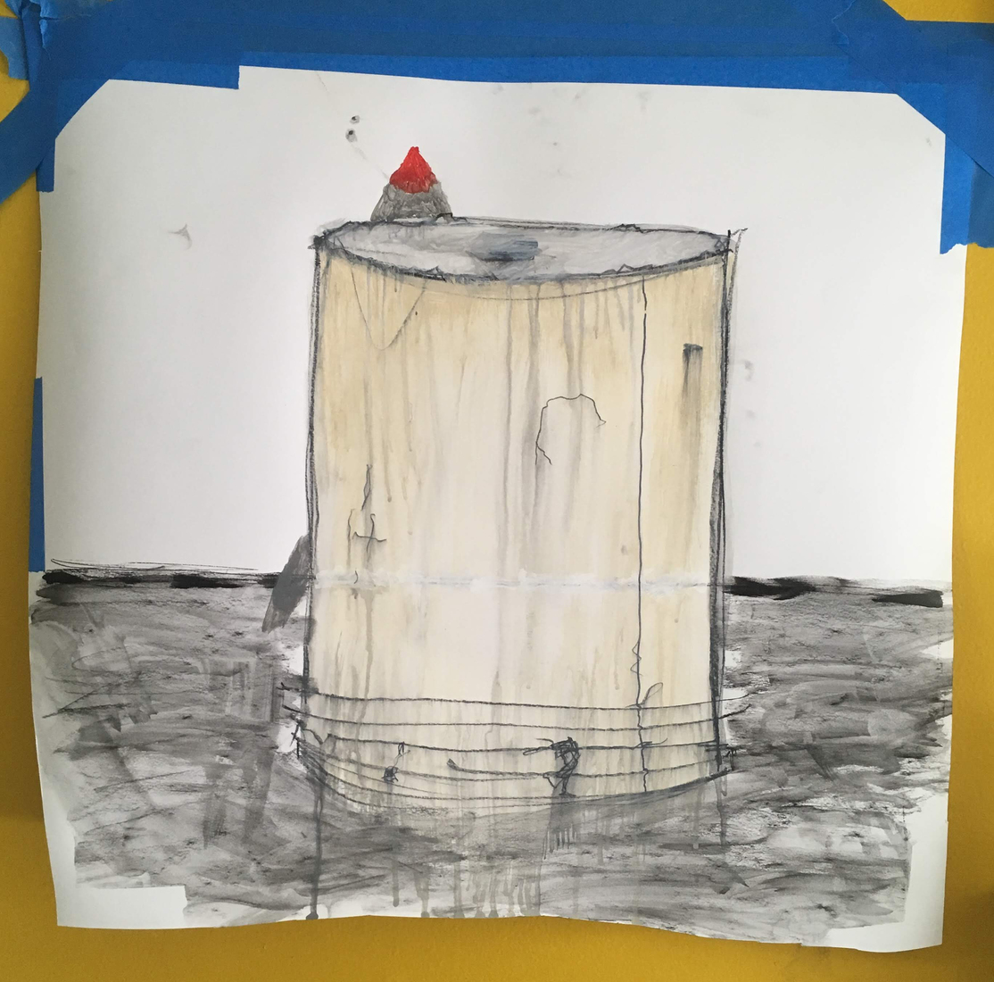 Present-2010 Drawing for Modular Sculpture (3)