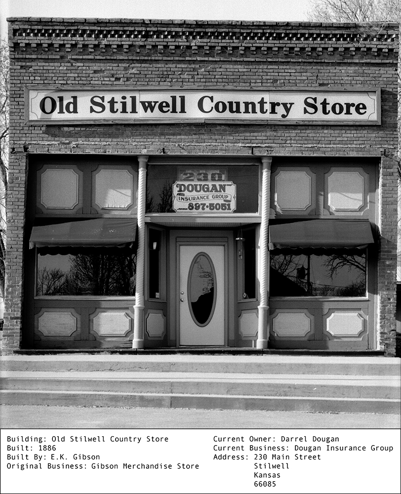 Sean Naftel  Old Stilwell Country Store<br/>