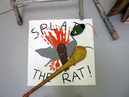 A Fair (Splat the Rat Midway Game)