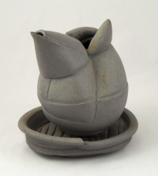 Shana Salaff Small Offerings (Bali 2012) Thrown, altered and assembled stoneware