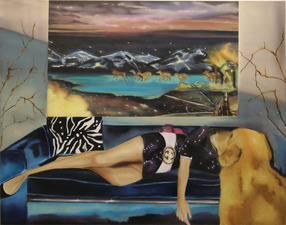 Sharona Eliassaf Paintings 2008/9 Oil on canvas