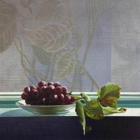 SHARON COSGROVE STILL LIFE oil on linen