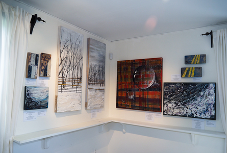 Sharon Hogg 2014, Leighton Arts Centre - Members Spring Show