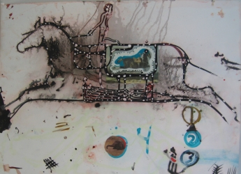 SHARON HORVATH Lovelife: Paintings on Paper 2011 Pigment, Ink, Polymer, Paper, Canvas