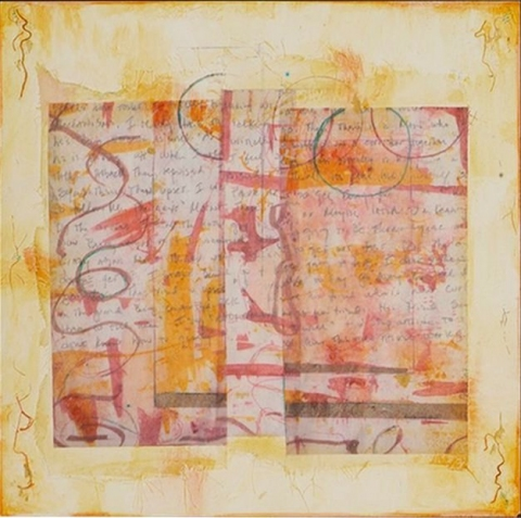 Sheila McInerney  Invisible Connections  mixed media