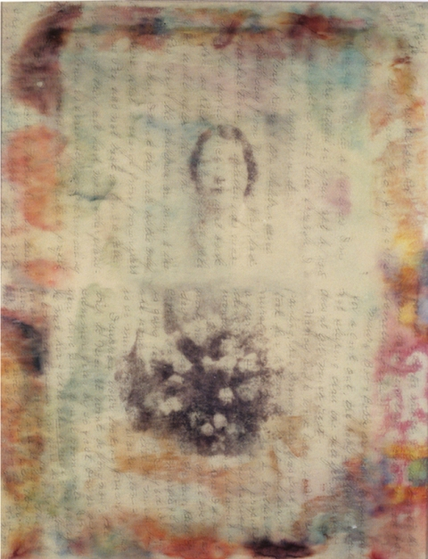 Sheila McInerney  Reminiscence mixed media