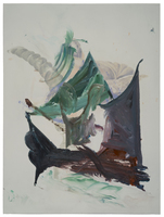 Sherif Habashi Recent works on paper Oil on Paper