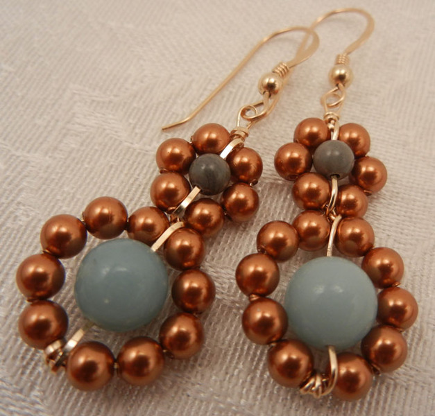 Shiri Daniella Beaded Earrings