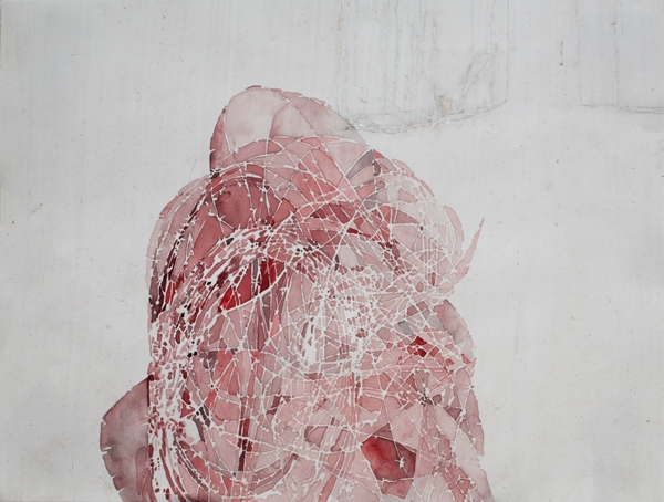 Tangles, Portals and Fences 2004-2007 pink wire 01