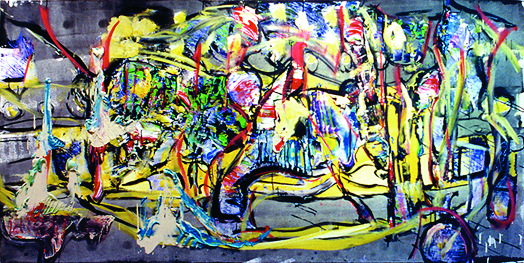 Sideshow Roy Lerner, Peter G Ray, Wizards With Paint Acrylic on canvas