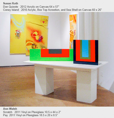 Home Color And Edge: Lauren Olitski, Susan Roth, Ann Walsh - March 31 to May 6, 2012