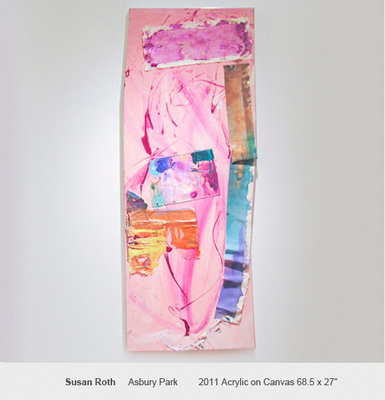 Sideshow Color And Edge: Lauren Olitski, Susan Roth, Ann Walsh - March 31 to May 6, 2012