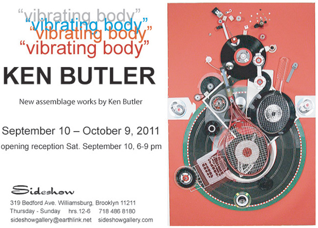 Sideshow Gallery Ken Butler - Vibrating Body