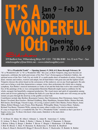 Sideshow Gallery It's a Wonderful 10th