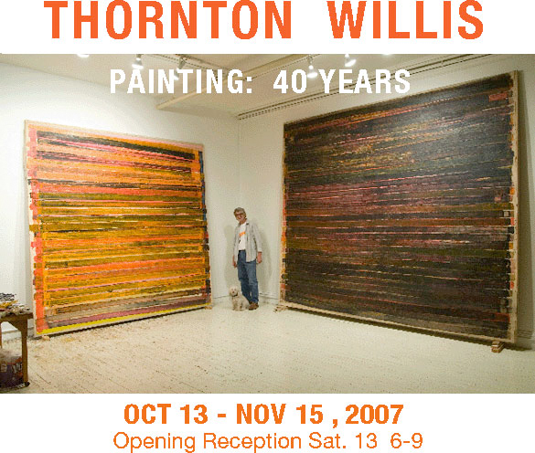 Sideshow Gallery Thornton Willis: Painting 40 Years