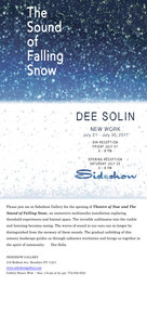 Sideshow Gallery UPCOMING EXHIBIT