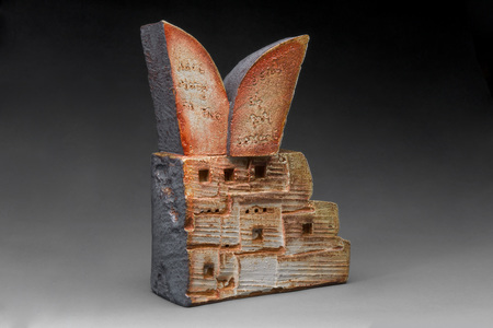 Sideshow Gallery Crossroads Lombard,Paulson, Radell wood-fired ceramic