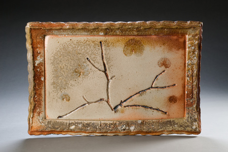 Sideshow Gallery CURRENT wood-fire ceramic, stone inclusions