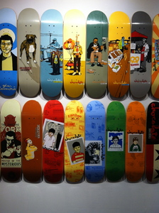 Sideshow Chocolate Skateboards